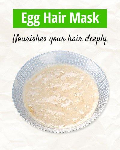 Egg Hair Mask