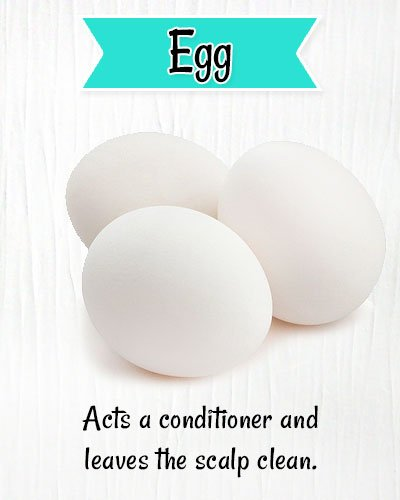 Egg for Dry & Itchy Scalp