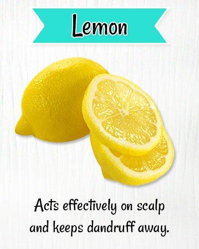 Lemonto Get Rid of Dry Scalp