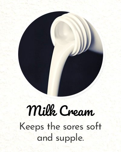 Milk Cream for Shoe Bite