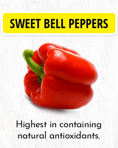 Sweet Bell Peppers to Balance Hormone