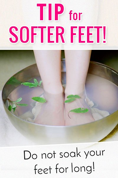 Tips For Soft Feet