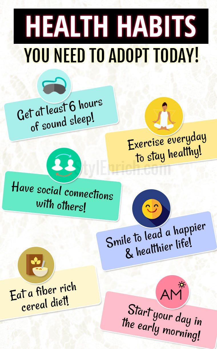 Good health habits