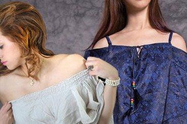 Off shoulder dress style