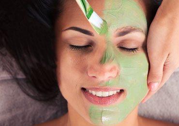 Herbal face packs