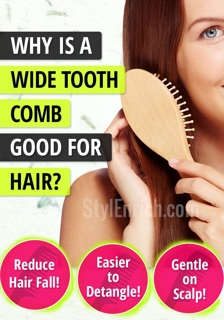 Tooth comb for hair