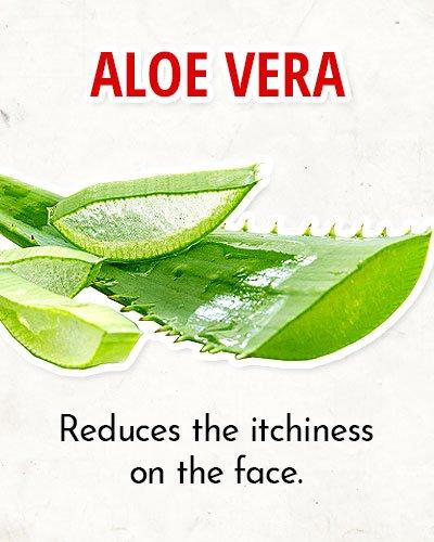 Aloe Vera to Overcome Facial Redness