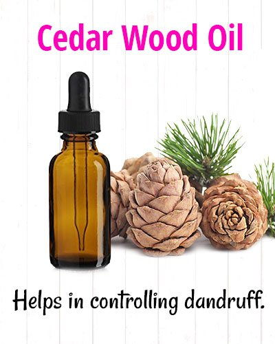 Cedar Wood Oil for Hair Loss