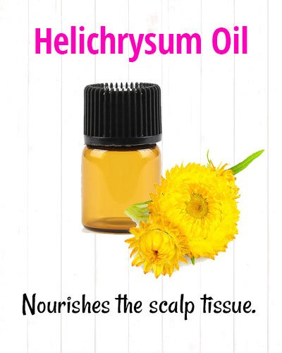 Helichrysum Oil for Hair Loss