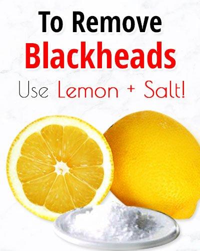 Lemon Salt Face Scrubfor Blackheads On Chin