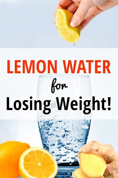 Lemon Ginger Recipe for Losing Weight