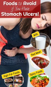 Ulcers in stomach