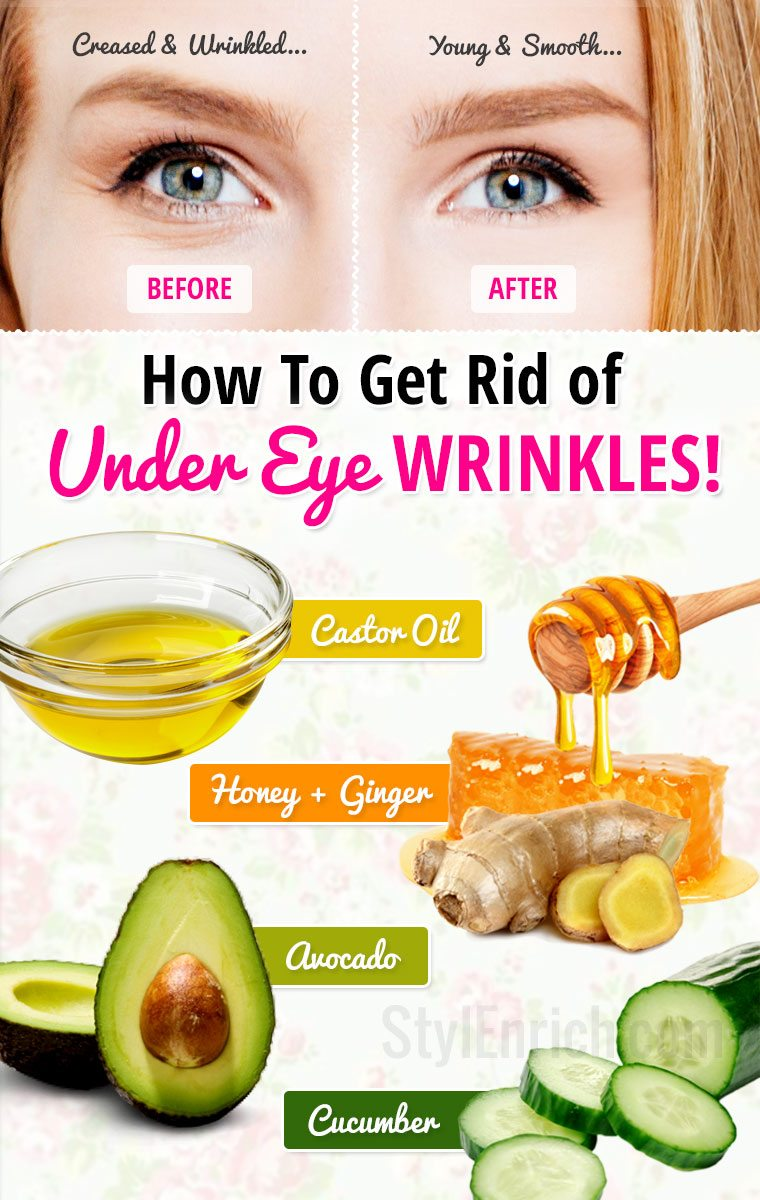 Home Remedy Wrinkles Around Eyes