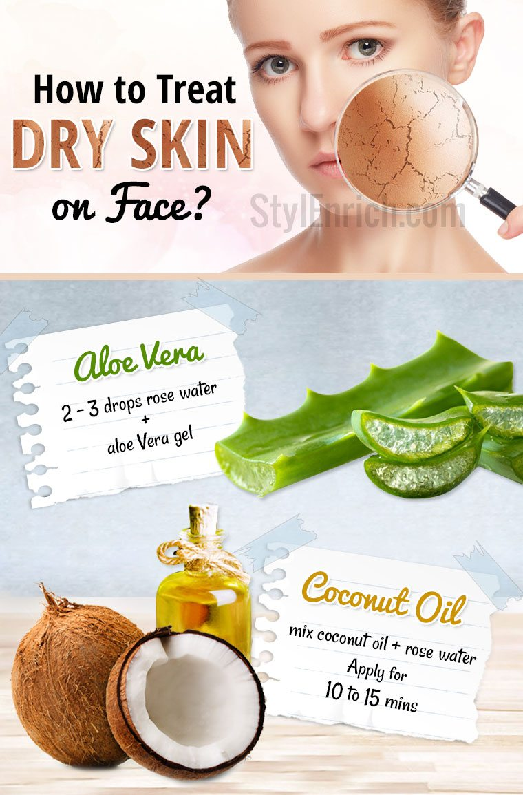 How to Treat Dry Skin on Face