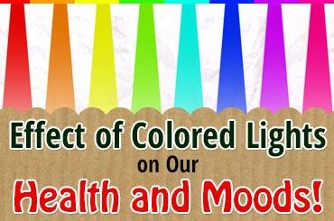 Effects of colored light on our health and mood