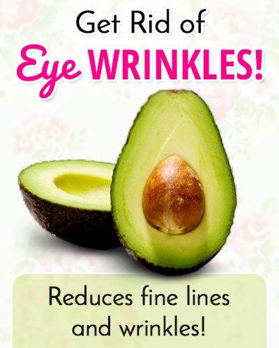 Avocados to Get Rid of Under Eye Wrinkles