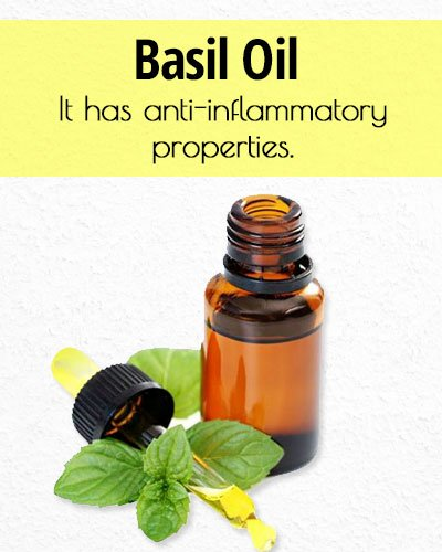 Basil Oil for Acne Treatment