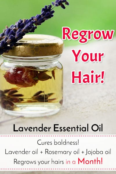 Lavender Oil for Hair Regrowth