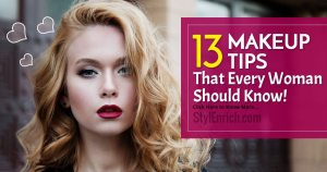 Makeup tips that every women should know