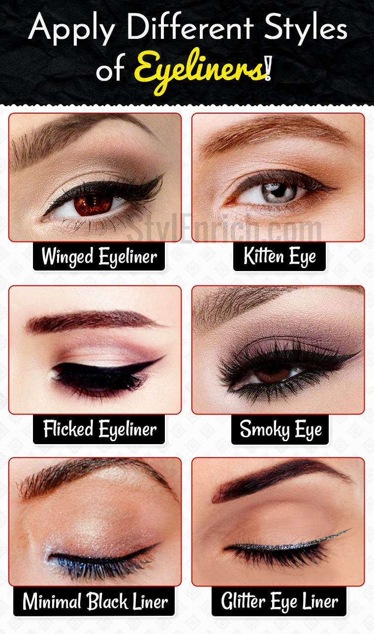 Eyeliner Styles : How to Apply Different Styles of ...