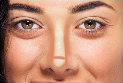 Step3 contour nose to look thinner