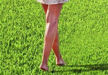 Benefits of walking barefoot