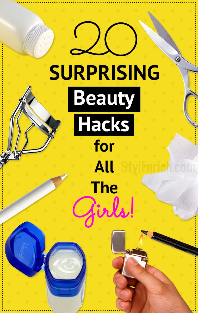 20 essential beauty hacks for all girls