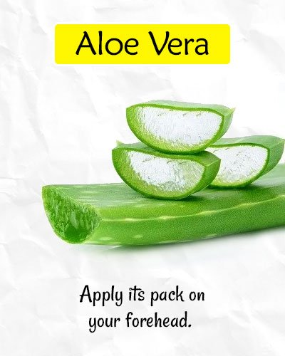 Aloe Vera to Get Rid of Forehead Wrinkles