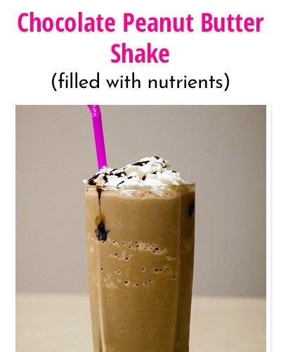 Chocolate Peanut ButterWeight Gain Shakes