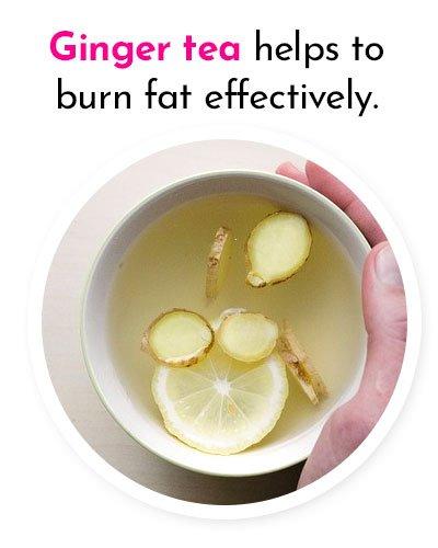 Ginger Tea to Burn Fat