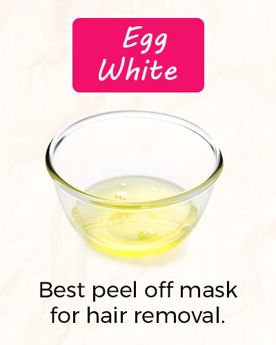 How To Get Rid of Facial Hair Using Egg White?