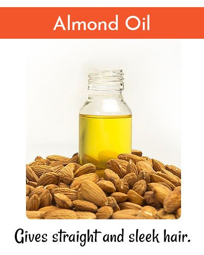 How to Straighten Hair With Almond Oil?