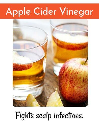 Apple Cider Vinegar ForHair Straightening