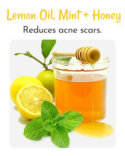 Lemon Oil, Mint and Honey