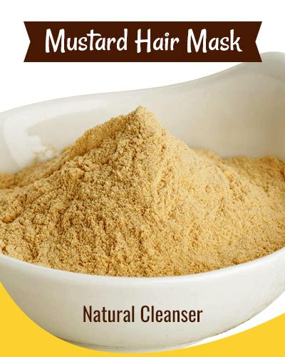 Mustard Hair Mask As A Natural Cleanser