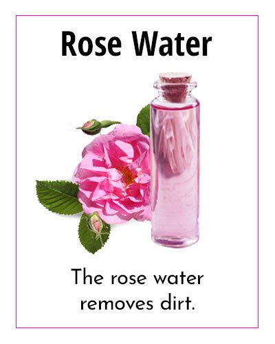 Rose Water Natural Moisturizer