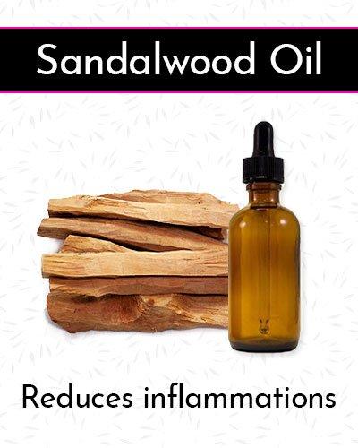 Sandalwood Oil for Face Wrinkles