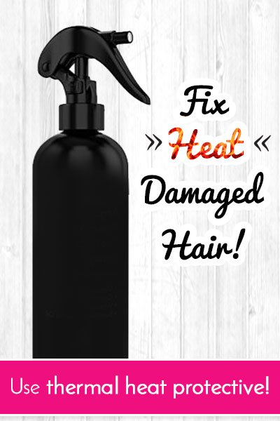 Thermal Protectors to Repair Heat Damaged Hair