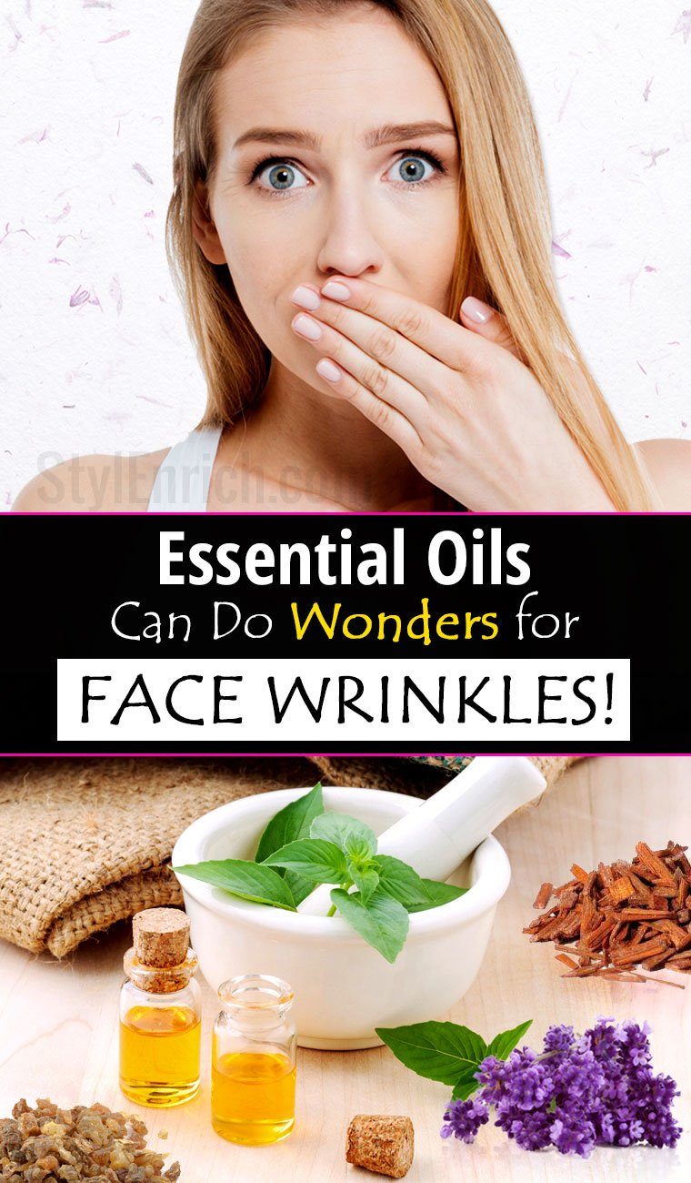 Essential oil for wrinkles on face