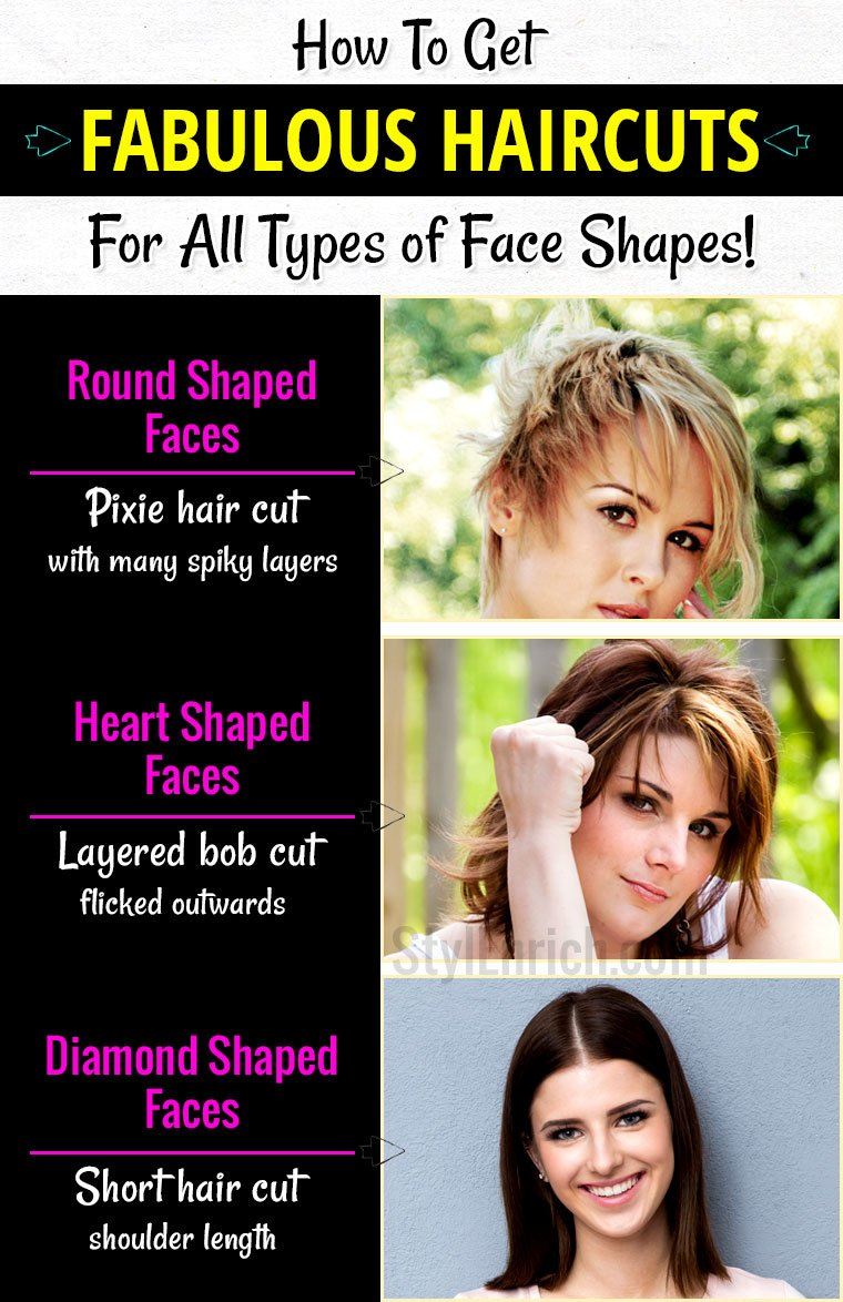 Haircuts for face shapes how to get fabulous haircuts for all face haircuts for face shapes winobraniefo Choice Image