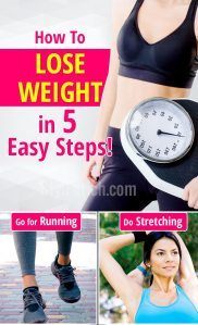 How to loose weight in 5 easy steps