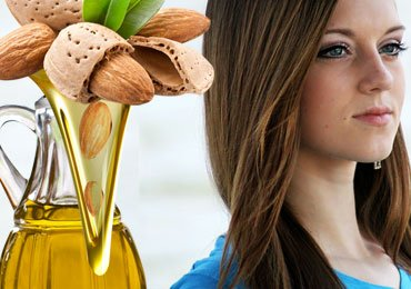 Almond oil for healthy and beautiful hair