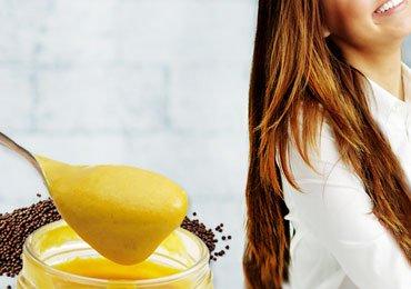 Benefits of mustard hair mask