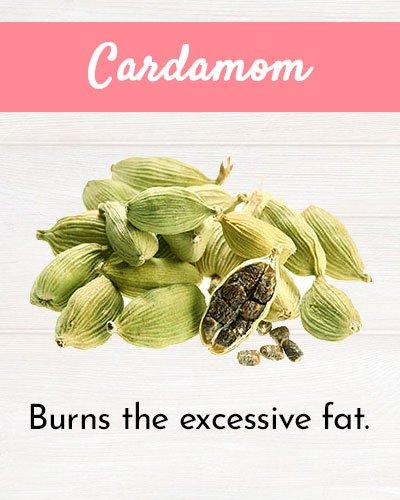 Cardamom For Burning Fat