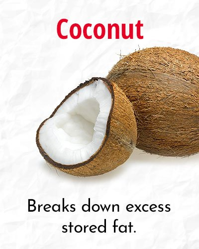 Coconut To Speed Up Your Metabolism