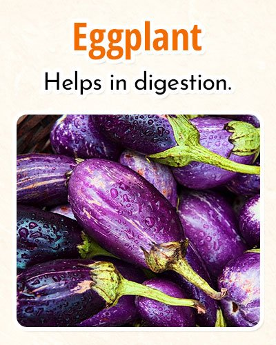 Eggplant For Burning Fat