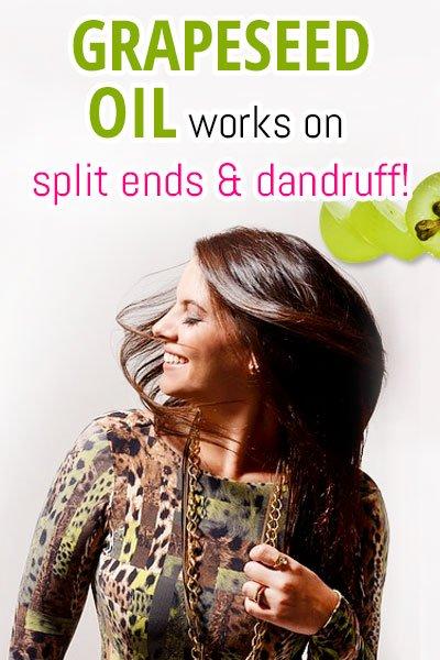 Grapeseed Oil For Dandruff Treatment