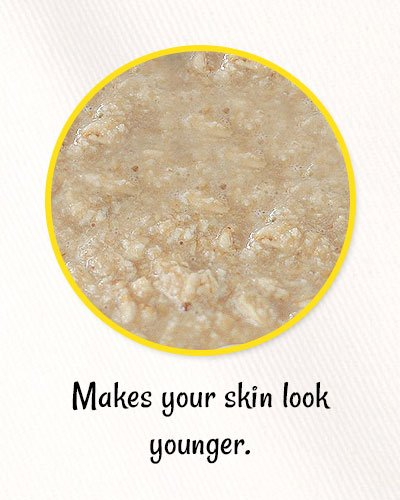 Lemon and Oatmeal Mask