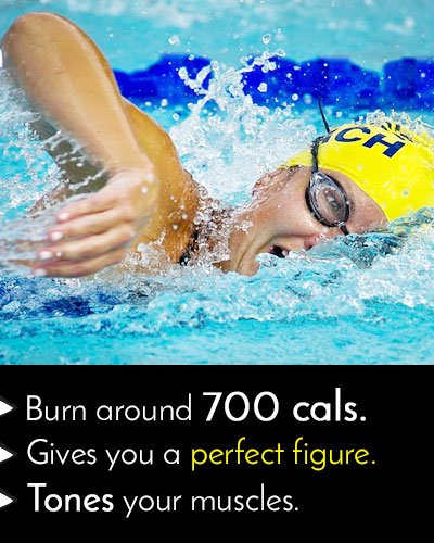 Swimming Exercise to Burn Calories