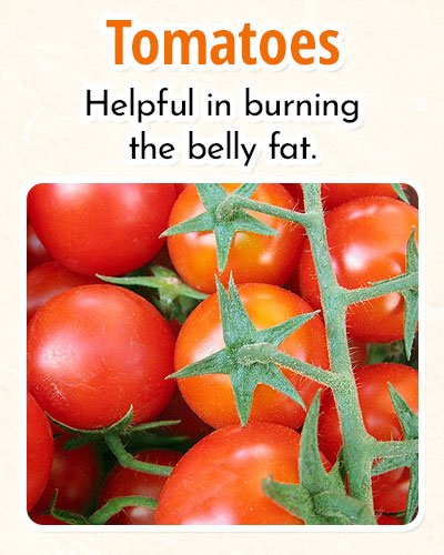 Tomatoes For Burning Fat